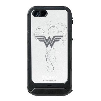 Schönheits-Glücks-Logo der Wunder-Frauen-  Incipio ATLAS ID™ iPhone 5 Hülle