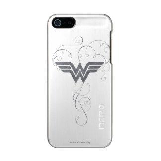 Schönheits-Glücks-Logo der Wunder-Frauen-  Incipio Feather® Shine iPhone 5 Hülle