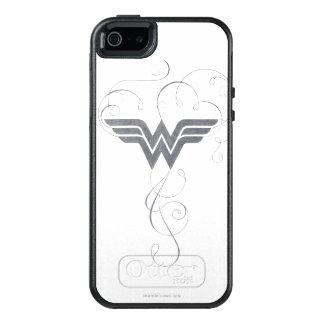 Schönheits-Glücks-Logo der Wunder-Frauen-  OtterBox iPhone 5/5s/SE Hülle
