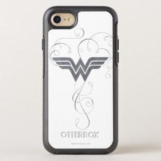 Schönheits-Glücks-Logo der Wunder-Frauen-| OtterBox Symmetry iPhone 8/7 Hülle