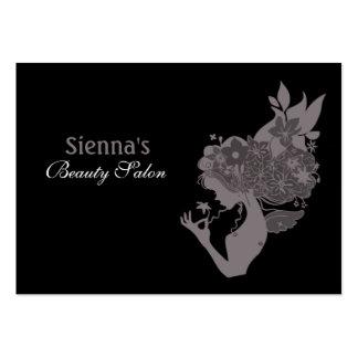 Schönheits-Salon-Verabredungs-Karte (Lavendel Mini-Visitenkarten