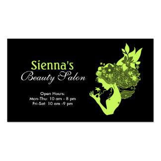 Schönheits-Salon Visitenkarten
