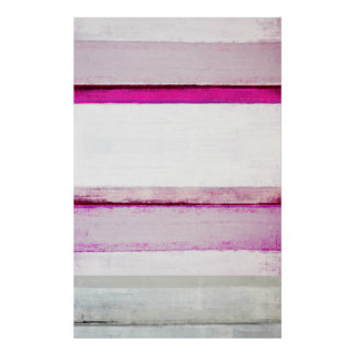 """""""Schönheits-Schlaf-"""" Rosa und graue abstrakte Poster"""