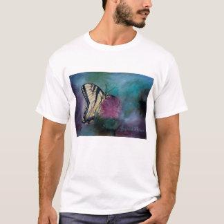 Schönheits-Schmetterlings-Erwachsen-T - Shirt