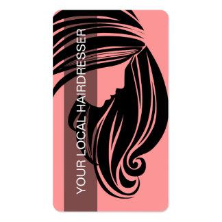 Schönheits-Visitenkarte-Friseur Visitenkarten