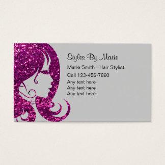 Schönheits-Visitenkarten Visitenkarte