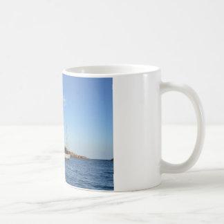Schooner in den Inseln von Scilly Kaffeetasse