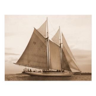 SchoonerAdventuress Postkarte