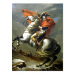 Schöpfer: Jacques-Louis David Napoleon? berschreit Postkarten