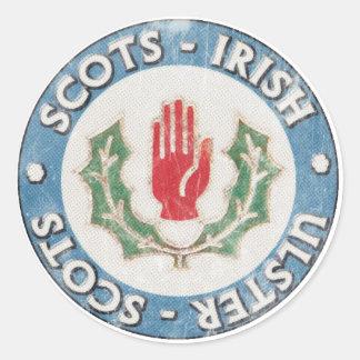 Schotte-Irische/Ulster-Schotten Aufkleber