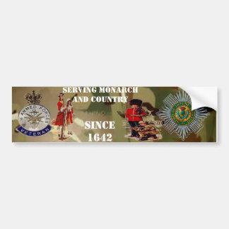 Schotte-Schutz-Veteranen-Stoßaufkleber Autoaufkleber