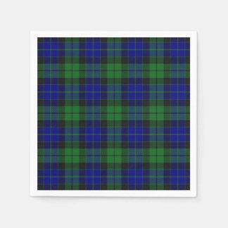 Schottische Clan MacKay Tartan-Serviette Papierserviette