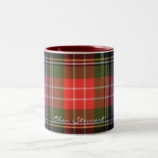 Schottische Clan-Stewarttartan-Designer-Tassen Zweifarbige Tasse