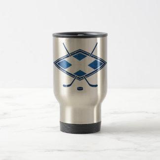 Schottische Eis-Hockey-Flagge Kaffee Tasse