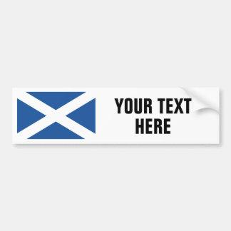 Schottische Flagge der Autoaufkleber