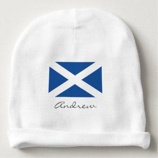 Schottische Flagge des Schottland-Baby Beaniehutes Babymütze