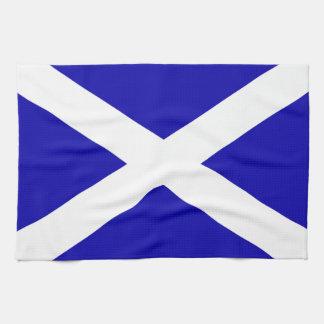 Schottische Flagge Handtuch