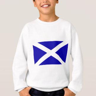 Schottische Flagge Sweatshirt