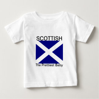 Schottische Flaggen-Kleidung Baby T-shirt