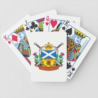 "Schottische ""GU bràth alba"" Bicycle® Poker-Karten Bicycle Spielkarten"