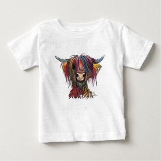Schottische haarige Hochland-Kuh 'OLIVER ' Baby T-shirt