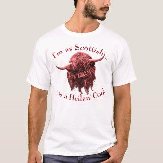 Schottische Hochland-Kuh. Heilan Gurren T-Shirt