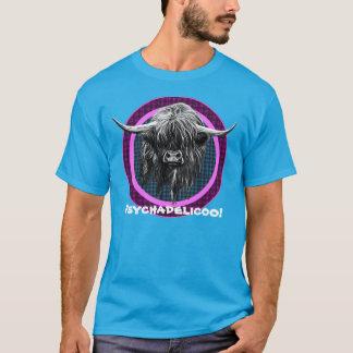 Schottische Hochland-Kuh. Psychadelicoo! T-Shirt
