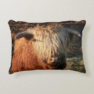 Schottische Hochland-Kuh - Schottland Deko Kissen