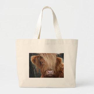 Schottische Hochland-Kühe - Schottland Jumbo Stoffbeutel