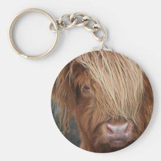 Schottische Hochland-Kühe - Schottland Standard Runder Schlüsselanhänger