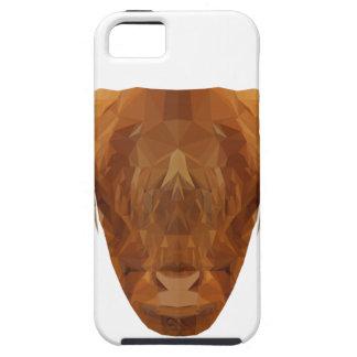 Schottische Hochland-Vieh-Schottland-Tier-Kuh Tough iPhone 5 Hülle