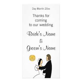 Schottische Hochzeits-Andenken, Geschenke, Karte