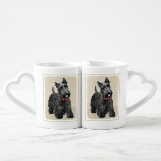 Schottische Terrier-Malerei - niedliche Liebestassen