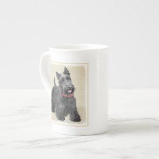 Schottische Terrier-Malerei - niedliche Porzellantasse