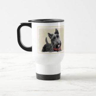 Schottische Terrier-Malerei - niedliche Reisebecher