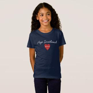 Schottische Unabhängigkeit ja Schottland T-Shirt
