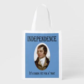 Schottische Unabhängigkeits-Einkaufstüte Robert Wiederverwendbare Tragetaschen