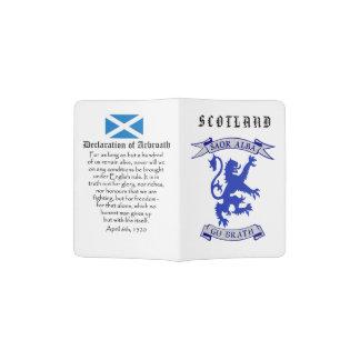 Schottische Unabhängigkeits-Löwe-Erklärung von Passhülle