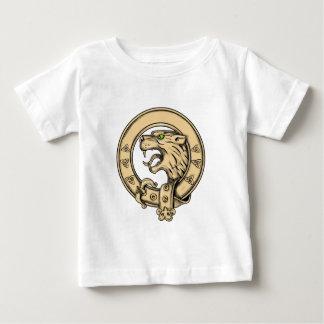 Schottische wilde Gurt-Tätowierung Baby T-shirt