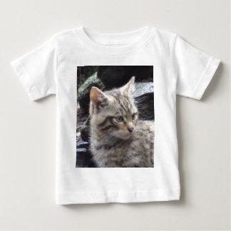 Schottische Wildkatze Baby T-shirt