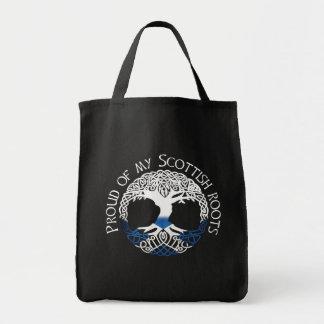 Schottische Wurzeln Einkaufstasche