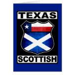 Schottischer Amerikaner Texas Karten