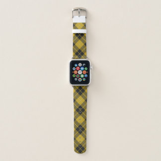 Schottischer Art-Clan-BarclayTartan kariert Apple Watch Armband