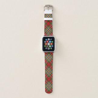 Schottischer Art-Clan Chattan Tartan kariert Apple Watch Armband