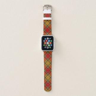 Schottischer Art-Clan Scrymgeour Tartan kariert Apple Watch Armband