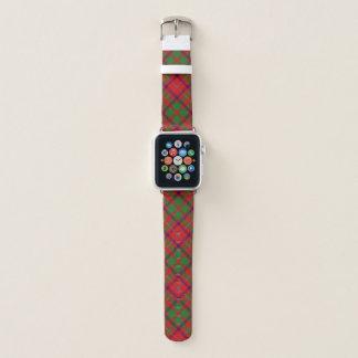 Schottischer Art-Clan-ShawTartan kariert Apple Watch Armband