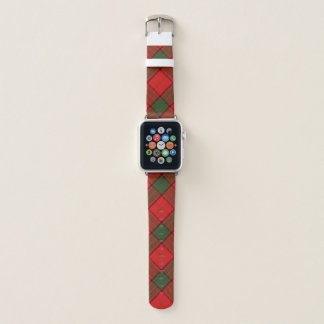 Schottischer Art-ClanMaxwellTartan kariert Apple Watch Armband