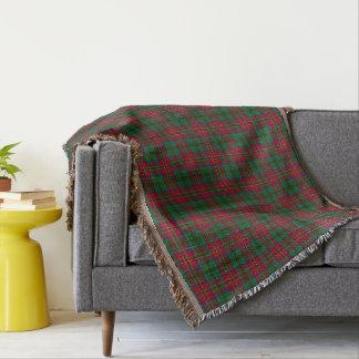 Schottischer Clan MacCulloch MacCullough Tartan Decke