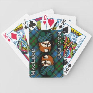 Schottischer Clan MacLeod der Bicycle Spielkarten