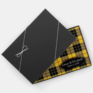 Schottischer Clan MacLeod der Lewistartan-Hochzeit Gästebuch